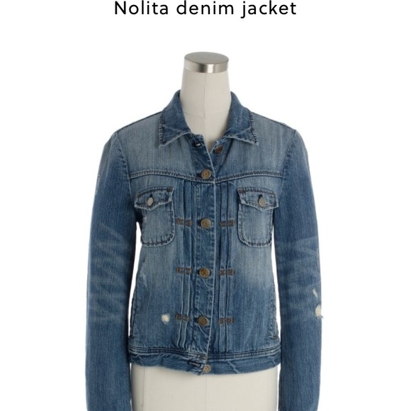 80c0c8a0bad J. Crew Jackets   Blazers - J. Crew Nolita Denim Jacket